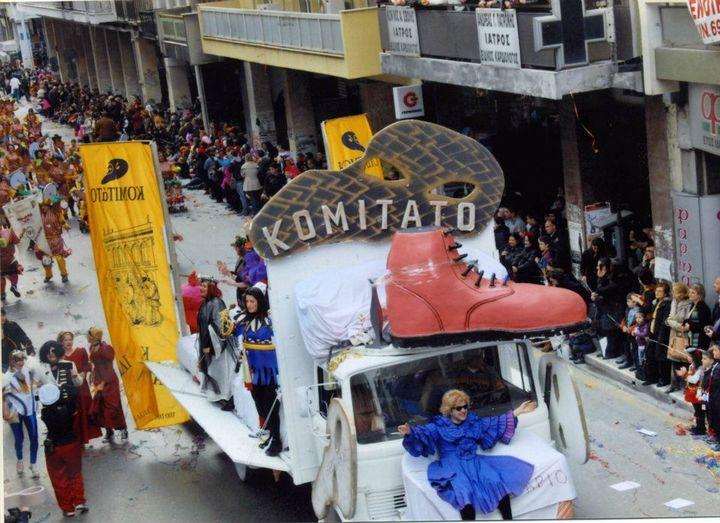 """""""Βεστιάριο"""" Παρέλαση 2012"""